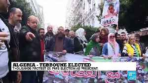 """Algeria - Tebboune elected: President-elect """"extends hand"""" to protest movement [Video]"""