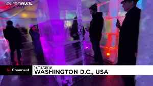 'Largest maze of clear ice in US' opens in Washington DC [Video]
