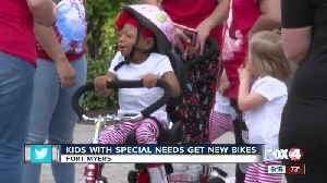 3rd annual bike giveaway for kids with special needs [Video]