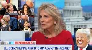 Jill Biden: Trump 'is afraid to run against my husband Joe Biden' [Video]