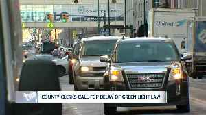 News video: Green Light Law set to take effect Monday, but some want it delayed
