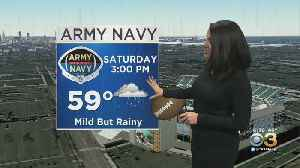 Philadelphia Weather: Army-Navy Game Forecast [Video]