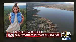 News video: Body found believed to be missing Willa Rawlings