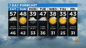 New York Weather: CBS2 12/13 Nightly Forecast at 11PM [Video]