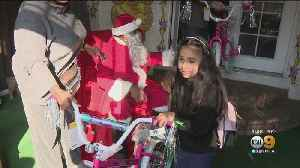 Sweet Surprise: Children In Watts Get Into The Holiday Spirit With Annual Christmas Party [Video]