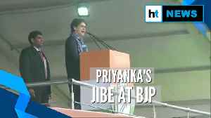WATCH: Priyanka Gandhi hits out at Modi govt over onion price, unemployment [Video]
