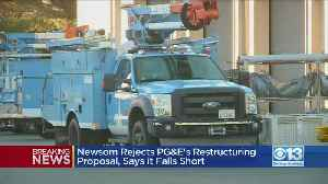Gov. Newsom Rejects PG&E's Bankruptcy Plan [Video]