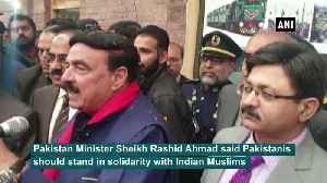 Our responsibility to stand with Indian Muslims Pak Minister [Video]