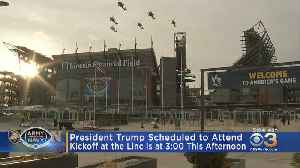 President Trump Scheduled To Attend Army-Navy Game [Video]