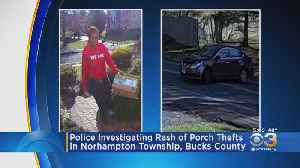 Police Investigating Rash Of Porch Thefts In Northampton Township [Video]