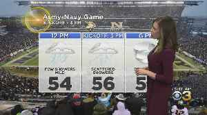 Saturday Morning Forecast: Army-Navy Game Forecast [Video]