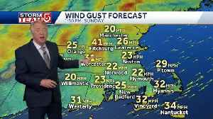 Video: Strong winds move in after rain clears out [Video]