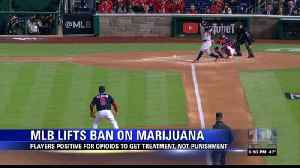 MLB removes marijuana from league's banned substances [Video]