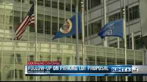 Kmart parking lot moves forward [Video]