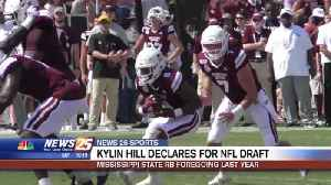 MSU RB Kylin Hill declares for NFL Draft [Video]