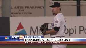 Shuckers lose Nate Griep to Rule 5 Draft [Video]