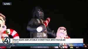 Get into the Star Wars spirit at the Star Wars Inflatable Christmas Spectacular [Video]