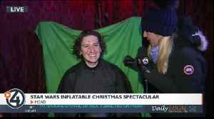 Kylo Ren replaces Santa at the Star Wars Inflatable Christmas Spectacular [Video]