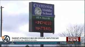 Spokane Valley parent charged with assaulting a student at Centennial Middle School [Video]