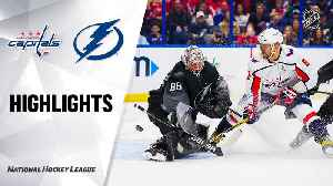 NHL Highlights | Capitals @ Lightning 12/14/19 [Video]