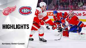 NHL Highlights | Red Wings @ Canadiens 12/14/18 [Video]
