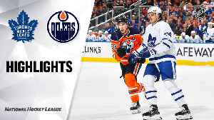 NHL Highlights | Maple Leafs @ Oilers 12/14/19 [Video]