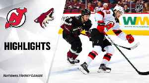 NHL Highlights | Devils @ Coyotes 12/14/19 [Video]