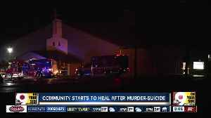 Community starts to heal after murder-suicide [Video]