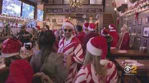 SantaCon Crawls Through New York City [Video]