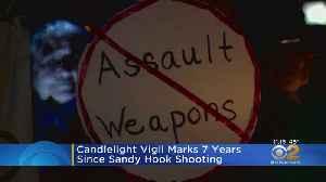Vigil Held On Anniversary Of Sandy Hook Shooting [Video]
