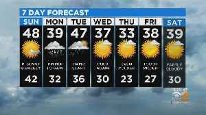 New York Weather: CBS2 12/14 Nightly Forecast at 11PM [Video]