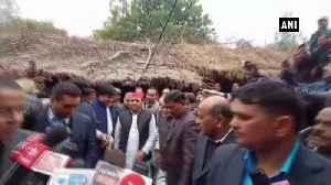 News video: Akhilesh Yadav meets family of Unnao rape victim