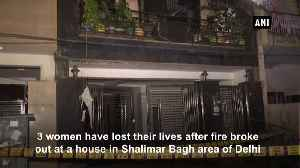 3 women die after fire breaks out in house in Shalimar Bagh Delhi [Video]