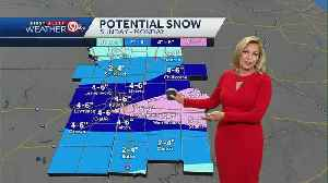 Expect two rounds of accumulating snow on Sunday, Monday [Video]