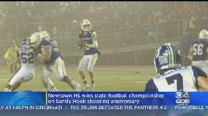 Newtown Wins First Conn. Football Title In 27 Years On Anniversary Of Sandy Hook Shooting [Video]