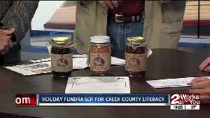 Holiday fundraiser to support Creek County Literacy Program [Video]