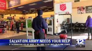 The Salvation Army needs your help this year [Video]