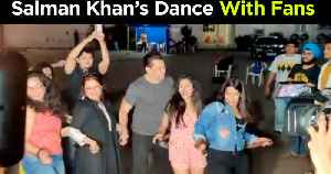 Salman Khan DANCES With Fans & Media On Munna Badnaam Hua | Dabangg 3 Promotions [Video]