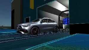 The new Mercedes-Benz GLA Edition - car-wash function [Video]