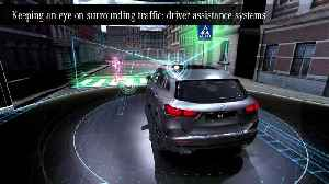 The new Mercedes-Benz GLA Edition - driver assistance systems [Video]
