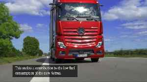 The new Mercedes-Benz Actros - advantages of MirrorCam [Video]