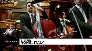Riccardo Muti conducts Christmas concert in Italian Senate [Video]