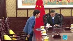 China's Xi gives Hong Kong leader 'unwavering support' [Video]