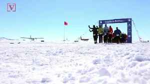 84 Year-Old Becomes Oldest Runner In Antarctic Race [Video]
