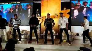 Salman, Prabhudeva, Sudeep groove to 'Munna Badnam' in Chennai [Video]