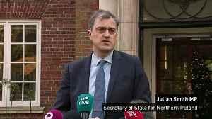 Julian Smith urges Stormont success [Video]