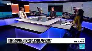 'Hindu nationalist backlash to CAA protests is expected' [Video]