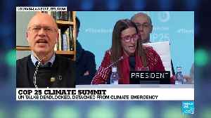 COP 25 Climate Summit : longest talks end with no deal on carbon markets [Video]