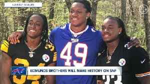 Bills-Steelers game extra special for Edmunds family [Video]