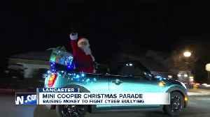 Mini Cooper parade cruises down Stony Brook Shines [Video]